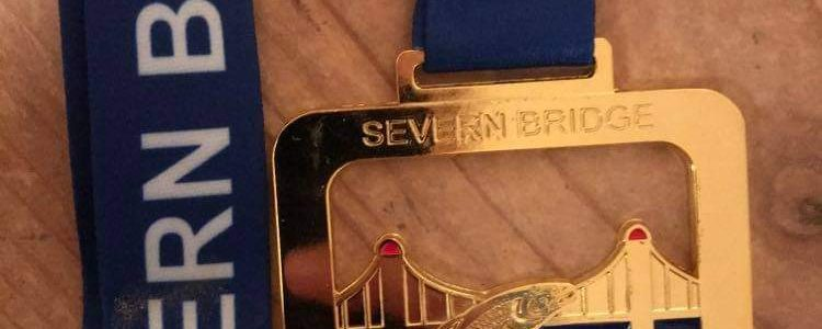 Severn Bridge 10k medal